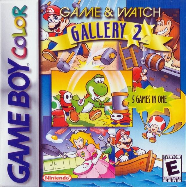 Boxshot Game & Watch Gallery 2