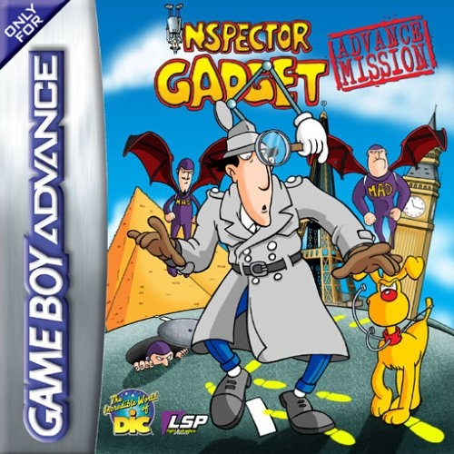 Boxshot Inspector Gadget: Advance Mission