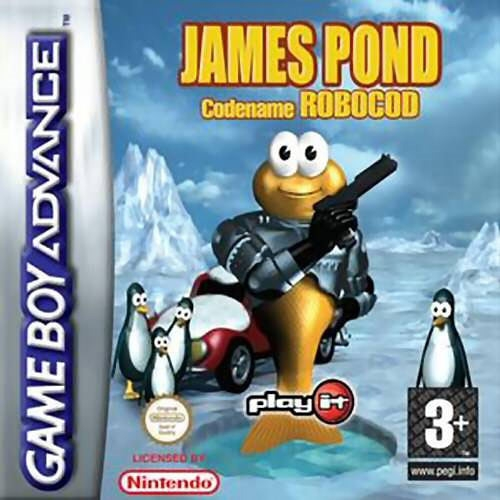 Boxshot James Pond - Codename Robocod