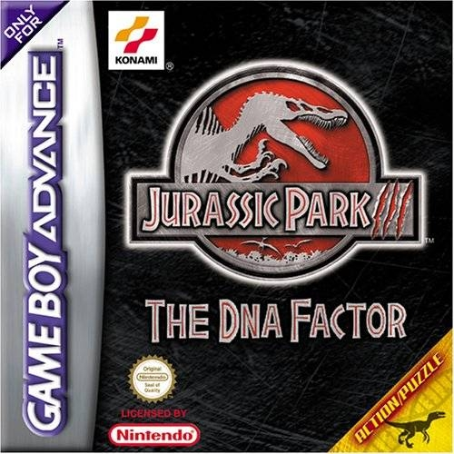 Boxshot Jurassic Park III: The DNA Factor