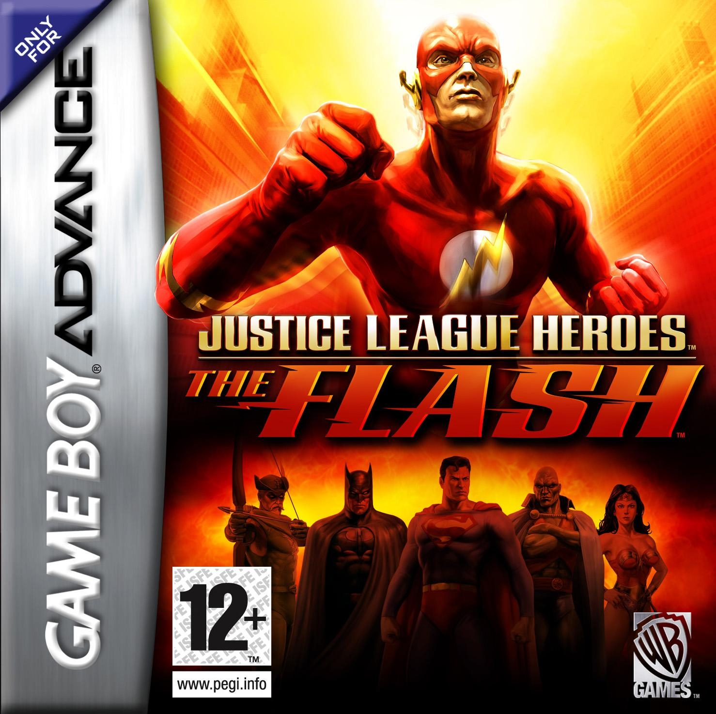 Boxshot Justice League Heroes: The Flash