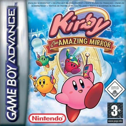 Boxshot Kirby & the Amazing Mirror