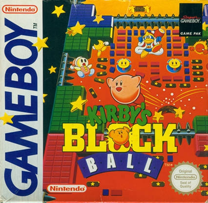 Boxshot Kirby's Block Ball