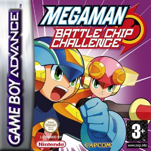 Boxshot Mega Man Battle Chip Challenge