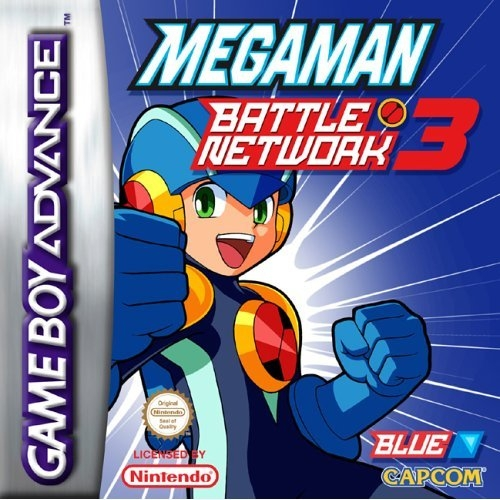 Boxshot Mega Man Battle Network 3 Blue