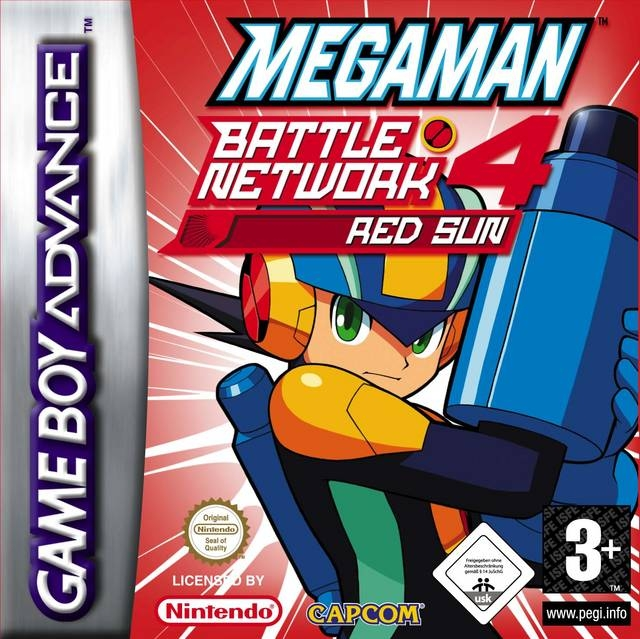 Boxshot Mega Man Battle Network 4 Red Sun