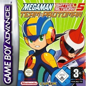 Boxshot Mega Man Battle Network 5: Team Protoman