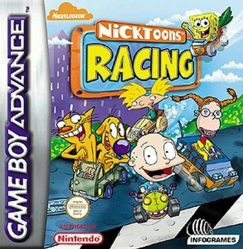 Boxshot Nicktoons Racing
