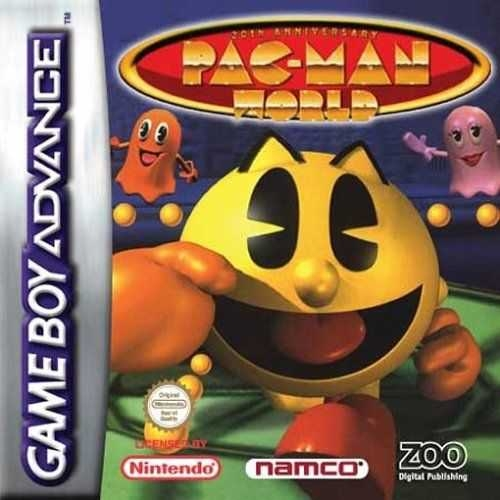 Boxshot Pac-Man World