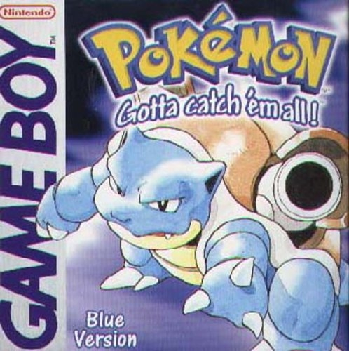 Boxshot Pokémon Blue Version