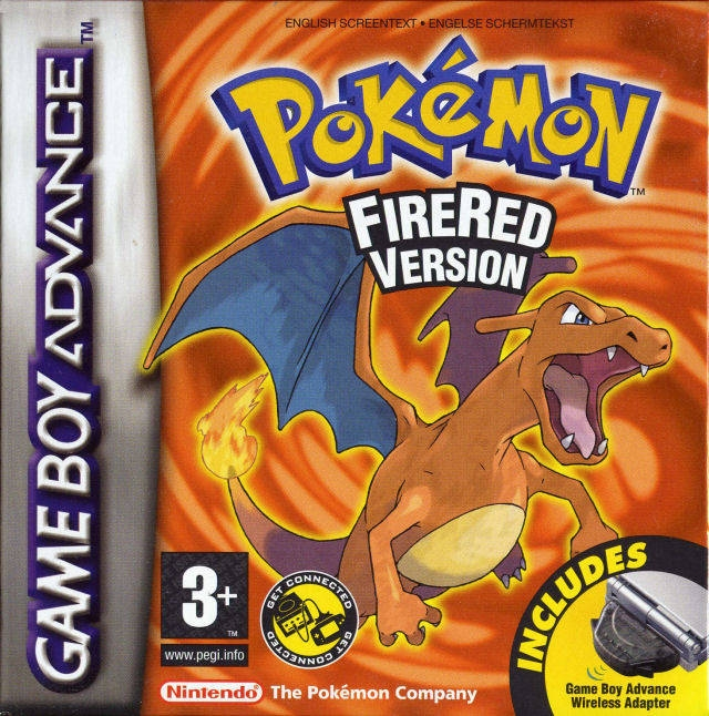Boxshot Pokémon FireRed Version
