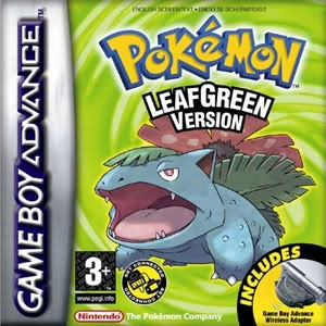 Boxshot Pokémon LeafGreen Version