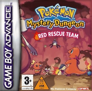 Boxshot Pokémon Mystery Dungeon: Red Rescue Team
