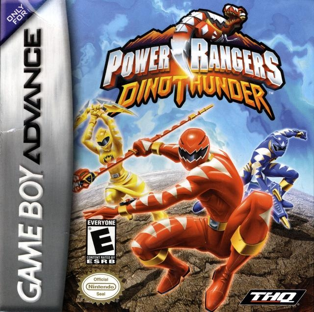 Boxshot Power Rangers Dino Thunder