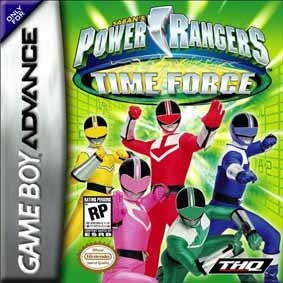 Boxshot Power Rangers: Time Force