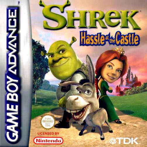 Boxshot Shrek: Hassle at the Castle
