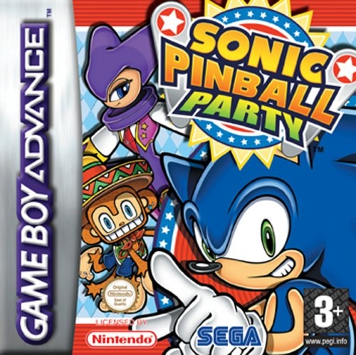 Boxshot Sonic Pinball Party