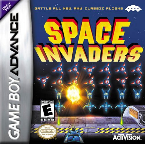 Boxshot Space Invaders