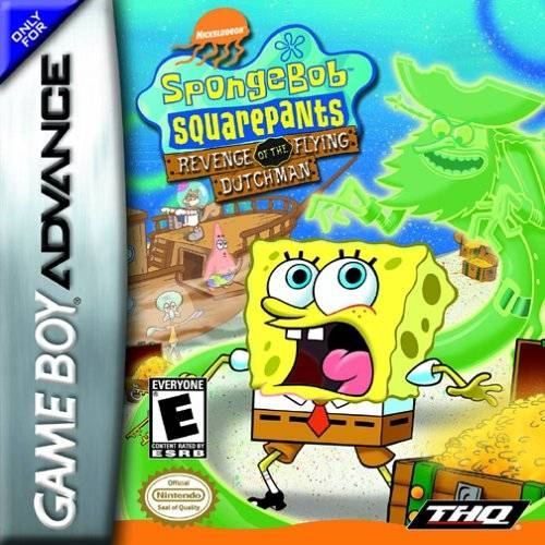 Boxshot SpongeBob SquarePants: Revenge of the Flying Dutchman