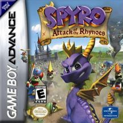 Boxshot Spyro: Attack of the Rhynocs