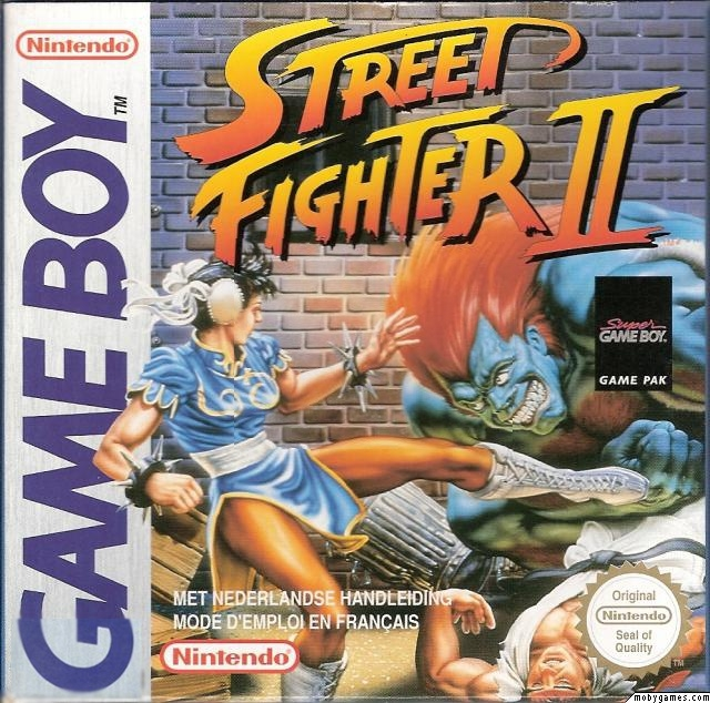 Boxshot Street Fighter II