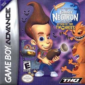 Boxshot The Adventures of Jimmy Neutron Boy Genius: Attack of the Twonkies