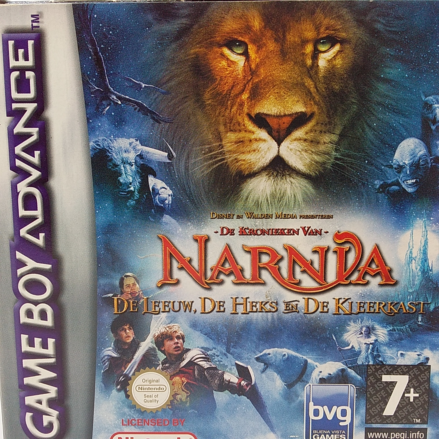 Boxshot The Chronicles of Narnia: The Lion, The Witch and The Wardrobe