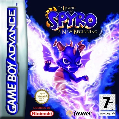 Boxshot The Legend of Spyro A New Beginning