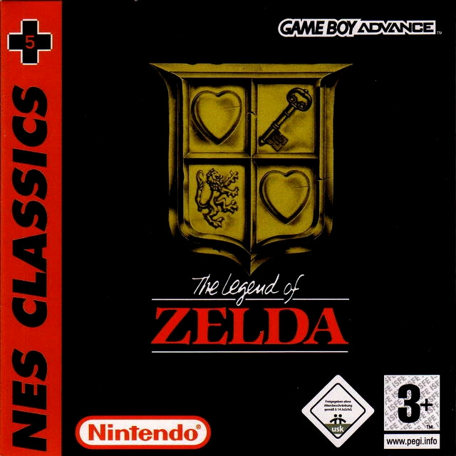 Boxshot The Legend of Zelda