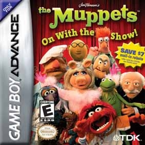 Boxshot The Muppets: On with the Show!
