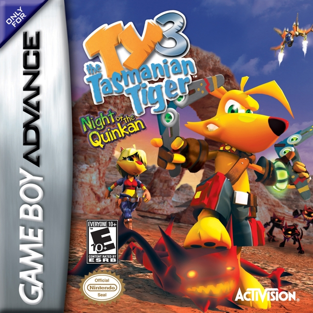 Boxshot Ty the Tasmanian Tiger 3: Night of Quinkan