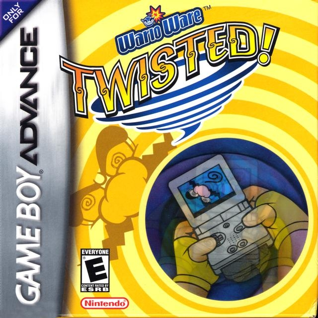 Boxshot Wario Ware: Twisted!