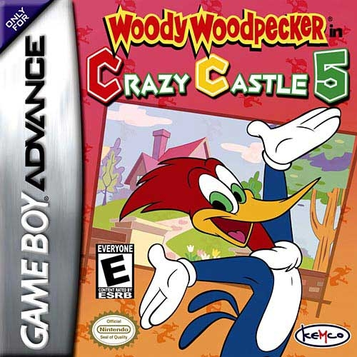 Boxshot Woody Woodpecker in Crazy Castle 5