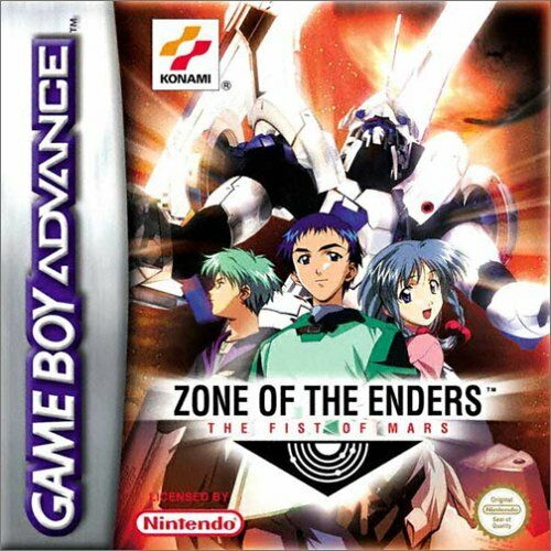 Boxshot Zone of the Enders: The Fist of Mars