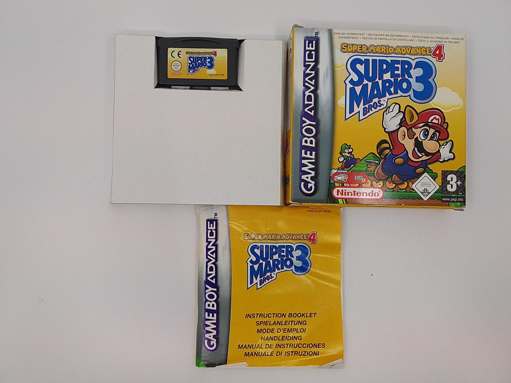 Foto van Super Mario Advance 4 Super Mario Bros 3 Compleet