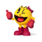 Afbeelding voor 2 Games in 1 Ms Pac-Man Maze Madness Plus Pac-Man World