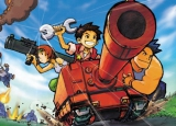 The Orange Star team! Welk wapen kies jij: Bazooka, tank of uh sleutel?!