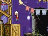 De game is een 2D-platformer. Heel veel springen dus!