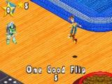 Een goed uitgevoerde flip levert Woody 5 punten op. Buzz Lightyear denkt dat hij het beter kan.