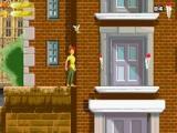 Spring van vensterbank naar vensterbank en ga op zoek naar het huis van Wendy en Peter.