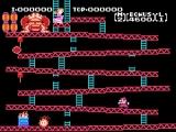 Ontwijk de vaten en vuurballen die Donkey Kong naar beneden werpt!