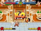Vecht in spectaculaire 2D-gevechten tegen oude bekenden, zoals Krillin.