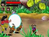 Goku heeft een hekel aan ongedierte en gebruikt een krachtveld om ze te verdoven.