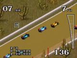 Zorg dat je niet van de weg af rijdt, anders verlies je snelheid.