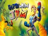Dit avontuur van Earthworm Jim speelt zich af in het hoofd van deze actieheld.