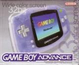 Reclame voor de Game Boy Advance die het grote kleurenscherm benadrukt.