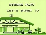 Mario staat klaar voor een leuk spelletje golf.