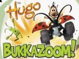 Hugo Bukkazoom is een racespel waarbij je kan spelen met verschillende personages.