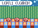 Na elk level toont <a href = http://www.mariogba.nl/gameboy-advance-spel-info.php?t=Kirby_and_the_Amazing_Mirror target = _blank>Kirby</a> natuurlijk zijn dansmoves.