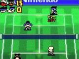 Je kunt zowel enkel als dubbel matches spelen.